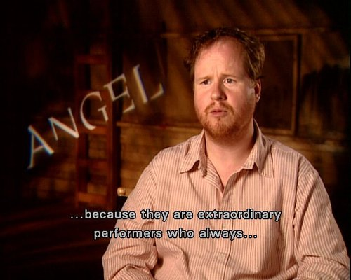joss on the angel dvd extras