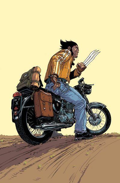 Wolverine motorcycle logan
