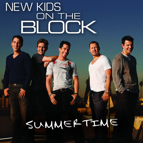 New Kids on the Block 바탕화면 containing a sign titled nkotb