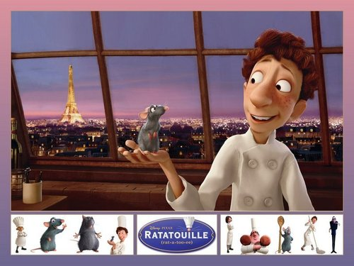 Movies wallpaper entitled ratatouille
