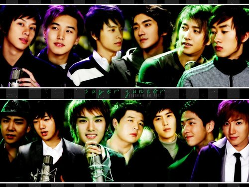 Super Junior wallpaper probably with a portrait called super junior
