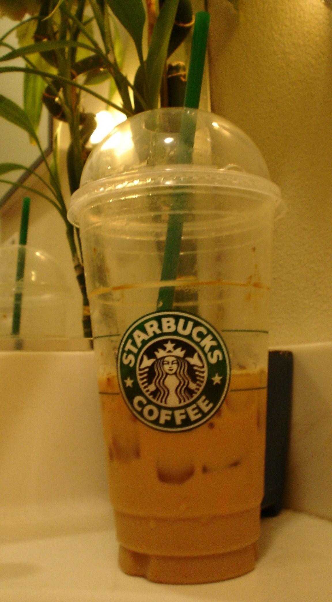 Venti Vanilla Latte Iced Starbucks Foto 2343387 Fanpop