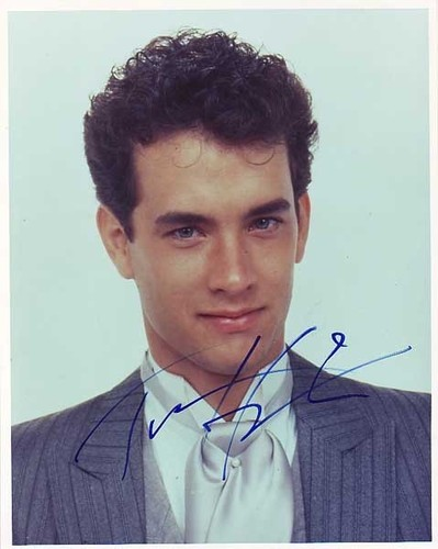 Tom Hanks achtergrond titled young Tom Hanks