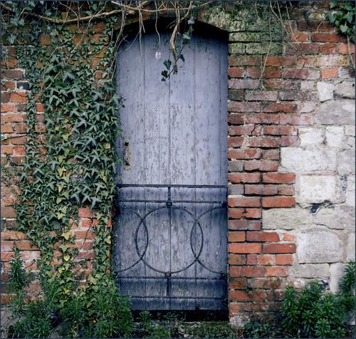 .Blue door