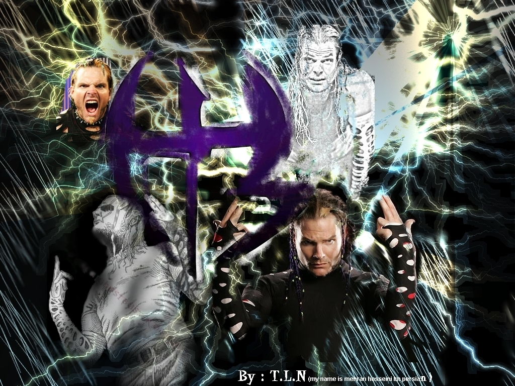 01 jeff hardy - wwe Wallpaper