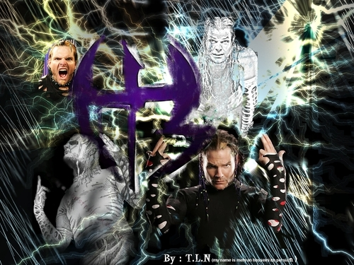 WWE wallpaper with anime called 01 jeff hardy
