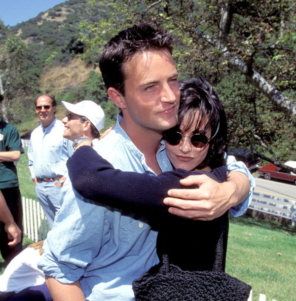 Matthew Perry and Courteney Cox  YouTube