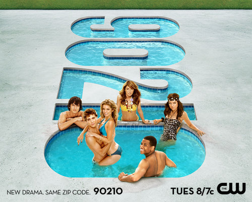 Shenae Grimes wallpaper with a water, a hot tub, and a bather titled 90210