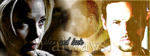 Alex and Izzie wallpaper entitled Alex and Izzie
