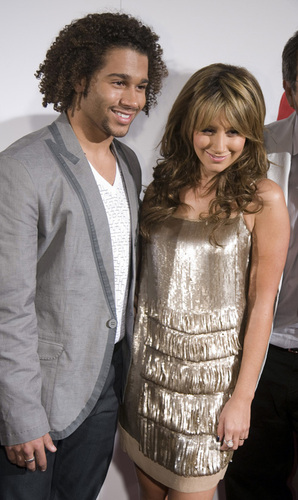 Ashley and Corbin at Spain Premiere