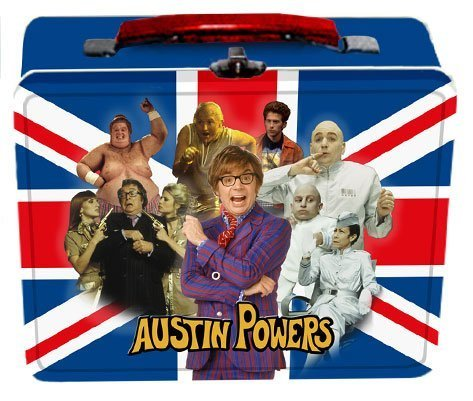 Austin Powers Lunch Box - lunch-boxes Photo