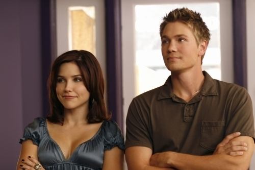 Brucas and Jamie wallpaper containing a portrait called BLJ