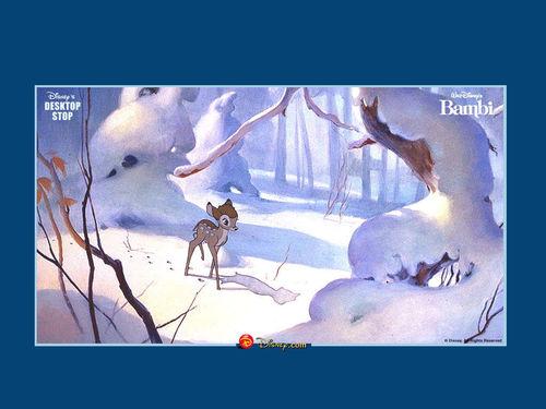 Bambi দেওয়ালপত্র