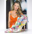 Blake designed a shoe for charity