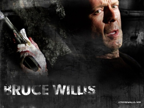 Bruce Willis wallpaper probably with a sign and anime entitled Bruce