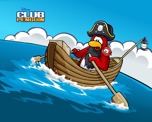 Capt.Rockhopper - club-penguin Wallpaper