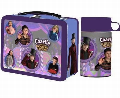 Charlie and the Cioccolato Factory Lunch Box