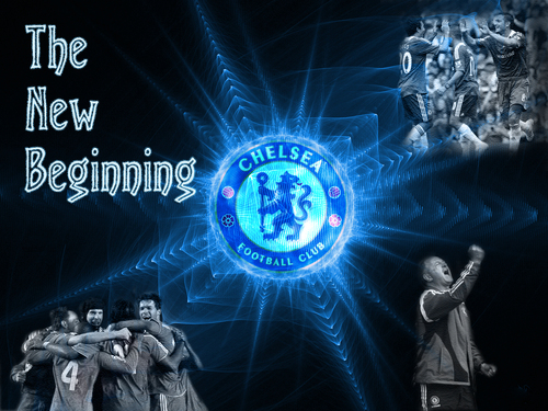 Chelsea FC achtergrond called Chelsea - The New Beginning