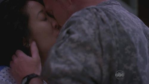 Christina&Owen kiss