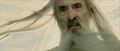 Christopher Lee as Saruman in The Return of the King - christopher-lee screencap