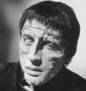 Christopher Lee in The Curse Of Frankenstein
