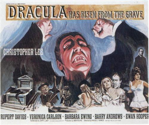 Christopher Lee original movie poster