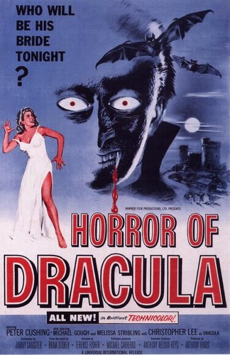 Christopher Lee original movie poster