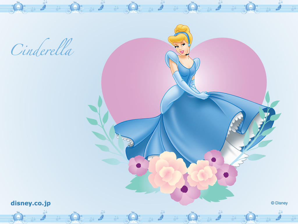 صور أميرات Cinderella-Wallpaper