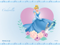 Walt disney wallpaper - Princess cinderella