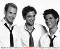 Cosmo Girl Outakes: Rob, Kellan, Taylor - twilight-series photo