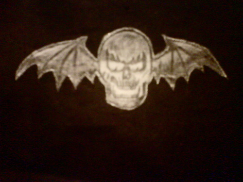 Avenged Sevenfold wallpaper possibly containing a sign titled Deathbat