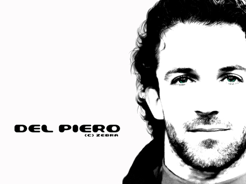 Alessandro Del Piero wallpaper with a portrait titled Del Piero