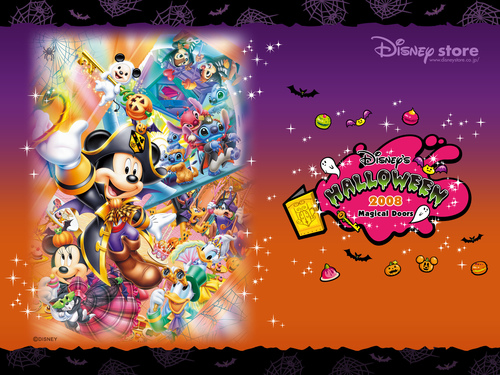 Disney wallpaper entitled Disney Halloween 2008 wallpaper