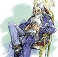 Dumbledore Portrait - albus-dumbledore fan art