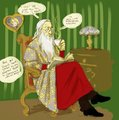 Dumbledore is not impressed - albus-dumbledore fan art