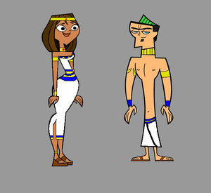 Total Drama Island wallpaper containing anime titled Duncan and Courtney
