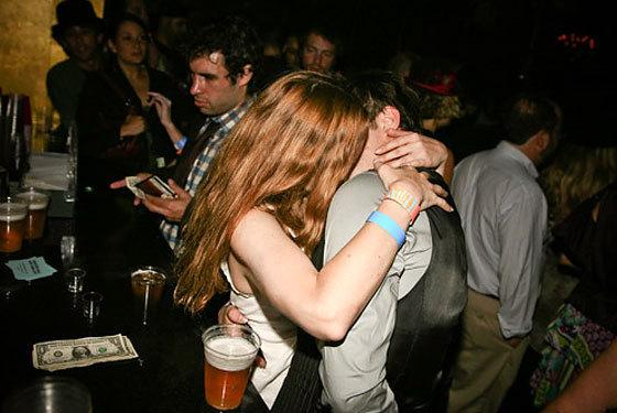 Ed Kissing....