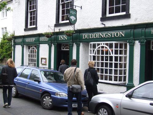 Scotland wallpaper with a tavern, a street, and a kantin, diner titled Edinburgh