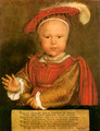 Edward VI, Son of Henry VIII and Jane Seymour