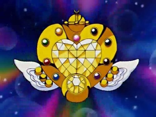 Eternal Sailor Moon's henshi brooch