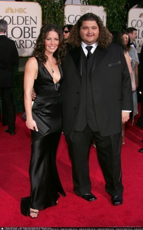 Evangelin @ 62nd Annual Golden Globe Awards 2005