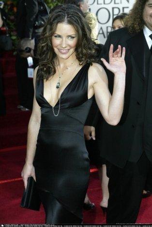 Evangelin @ 62nd Annual Golden Globe Awards 2005