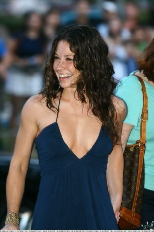 Evangeline @ lost Season 3 Premiere in Honolulu 2006