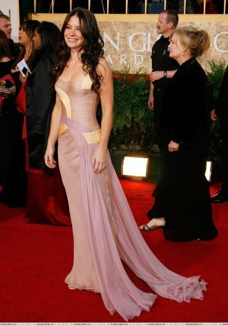 Evangeline @ The 64th Annual Golden Globe Awards 2007