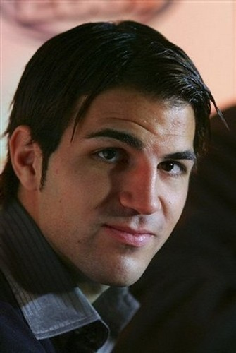 Fabregas(what's with his hair?!)