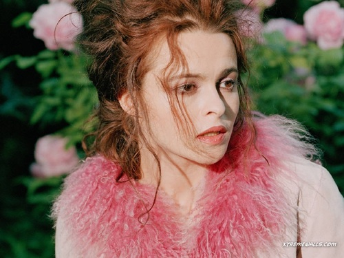 Helena Bonham Carter wallpaper probably containing a fur coat entitled Helena