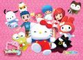 Hello Kitty Online Postcard