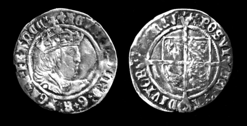 Henry VIII Coin