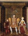 Henry VIII, Edward VI and Jane Seymour
