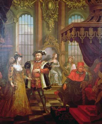 Henry VIII and Anne Boleyn's Wedding